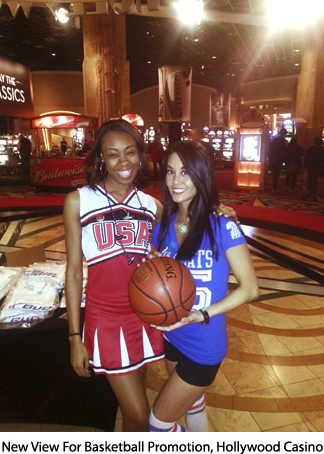 New View for Basketball Promo Hollywood Casino