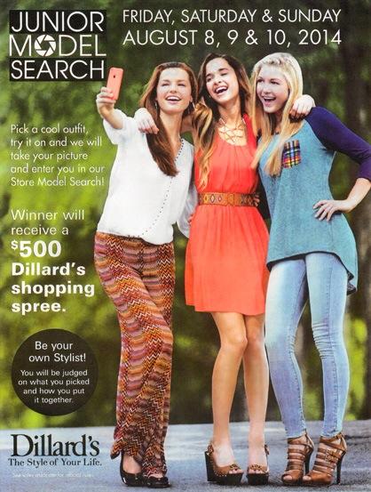 Dillard's Model Search - NV Models | New View Modeling